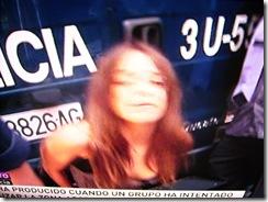 Detenida por defender sus derechos.En España