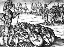 Las Viudas Afligidas - Theodore De Bry